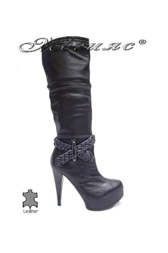 lady boots 261 black