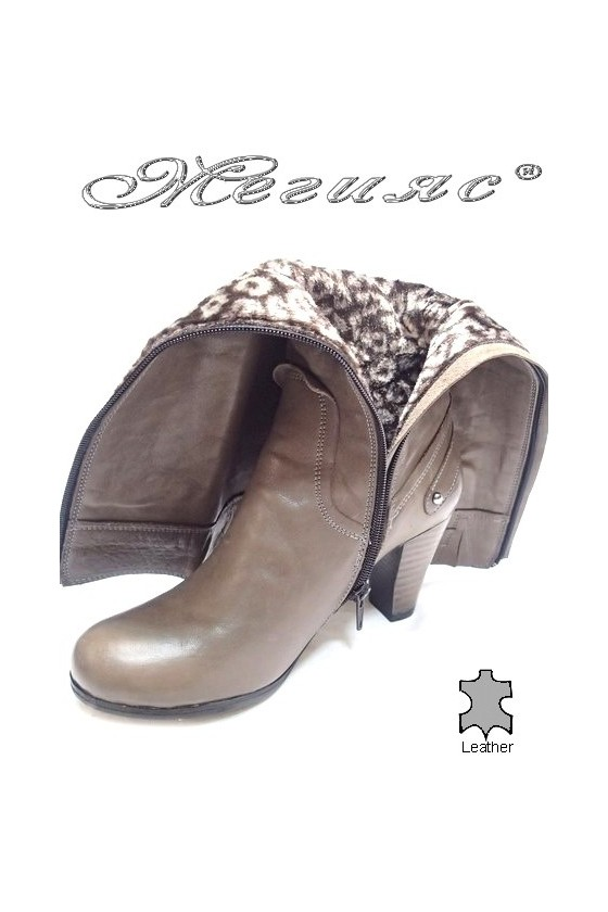 lady boots 302 beige
