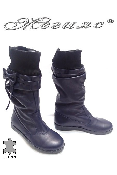 lady boots 477-697 blue