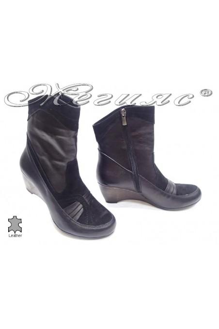 lady boots 1608 black