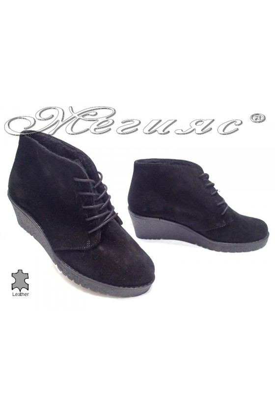 lady boots 90 black