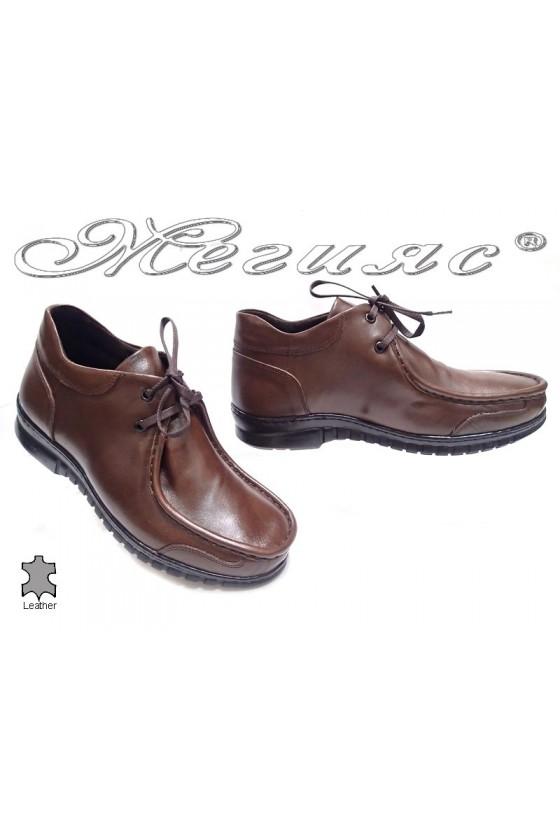 men's boots 040 brown