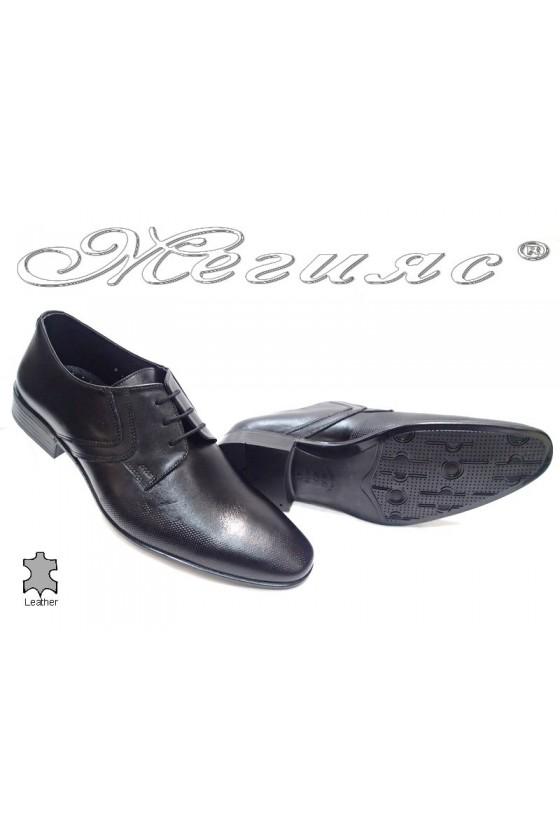Мъжки обувки Фантазия Р-19/57 черно естествена кожа
