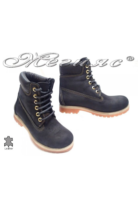 boots casual Mer / Garson black suede leather