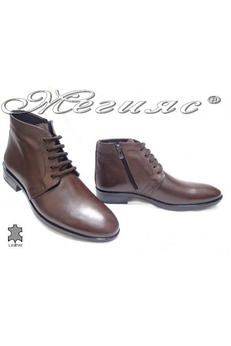 men's boots 9622. brown