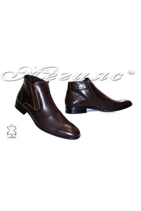 men's boots 20813 brown