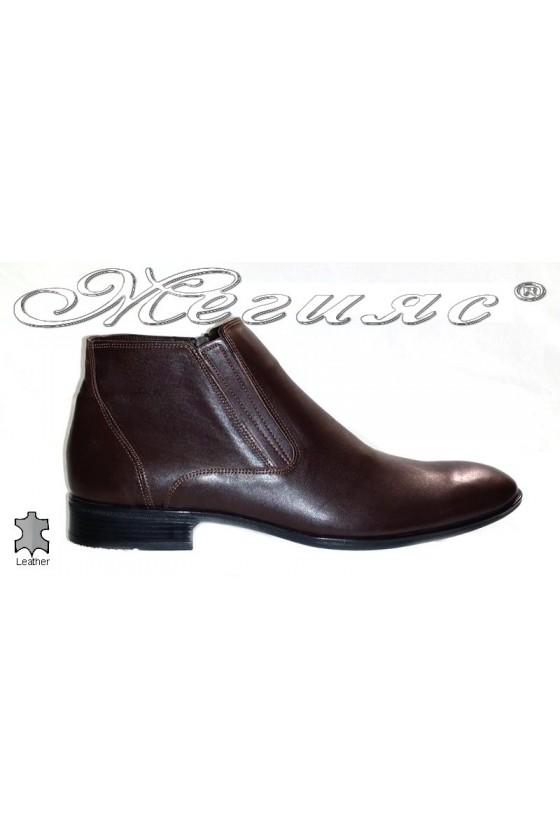 men's boots 20813 brown