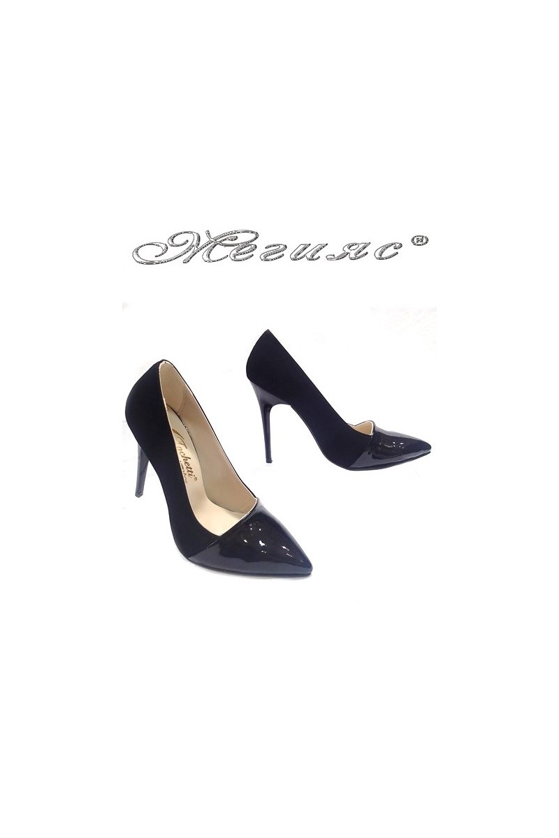 lady shoes 01502 black