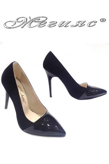lady shoes 01502 black