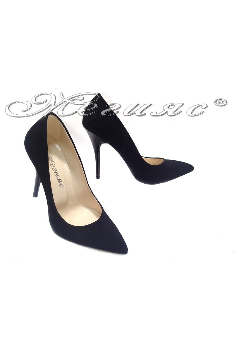Lady shoes 2015 black suede