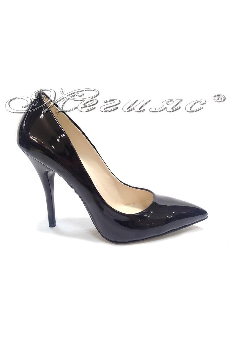 Lady shoes 2015 black lak