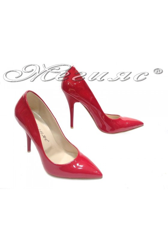 Lady shoes 2015 red lak
