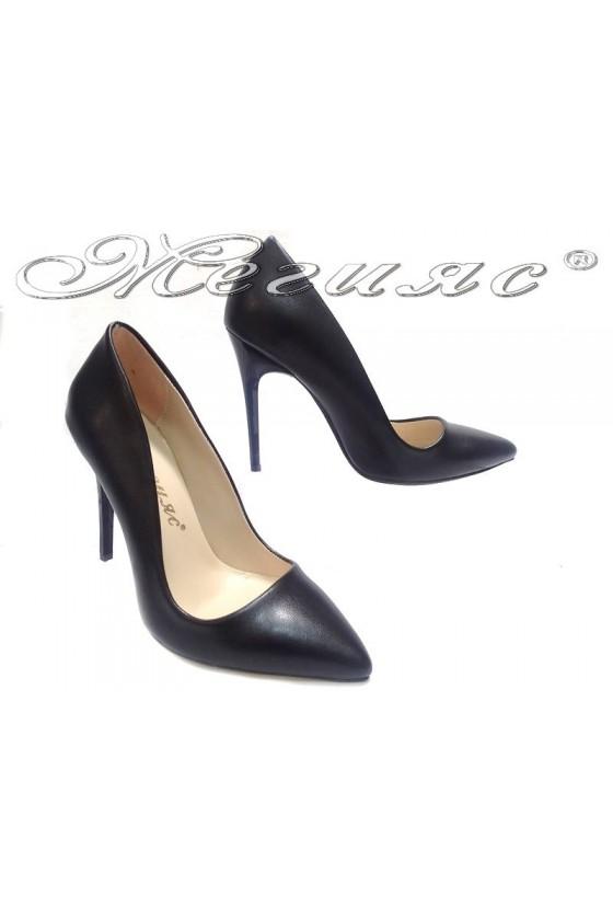 Ladies elegant shoes 5596 high heel pu