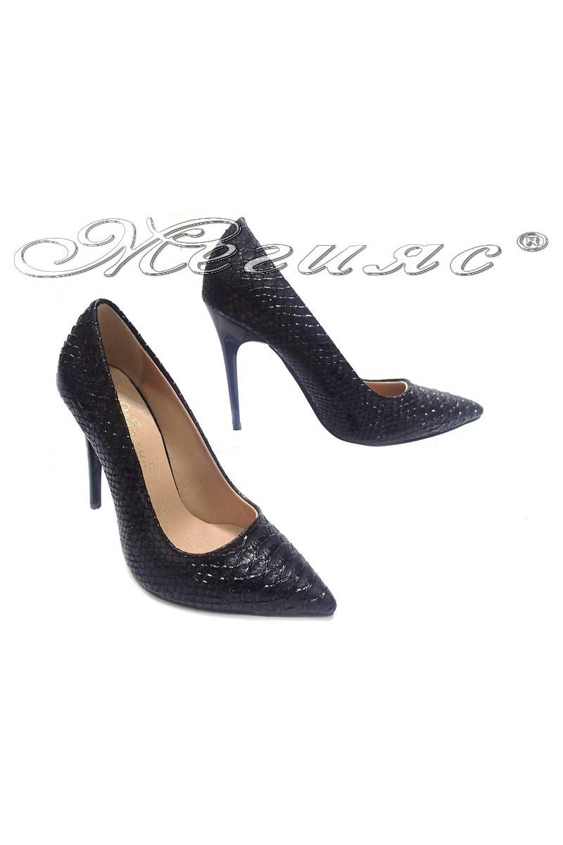 lady shoes 308 black