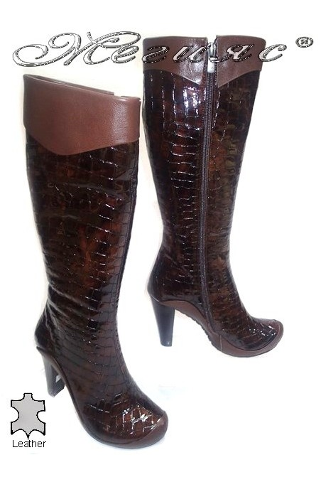 Lady boots 216 brown