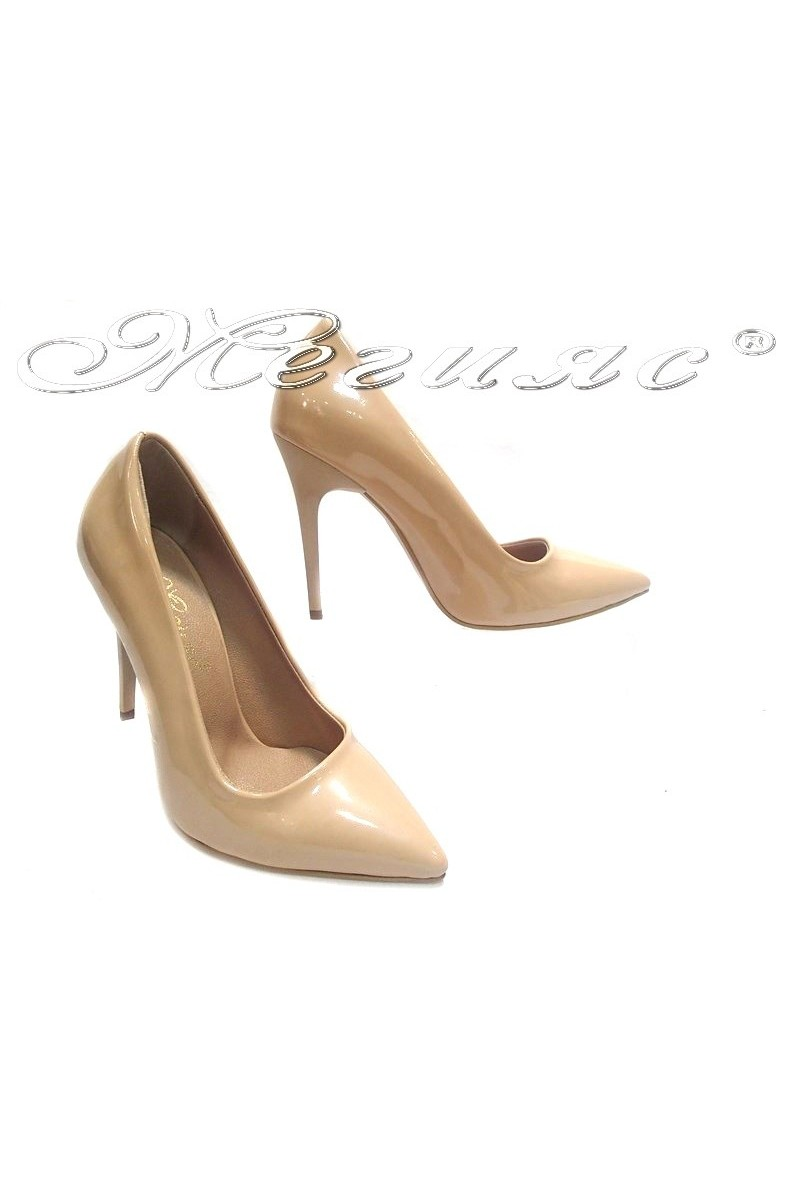 Shoes 308 beige lak