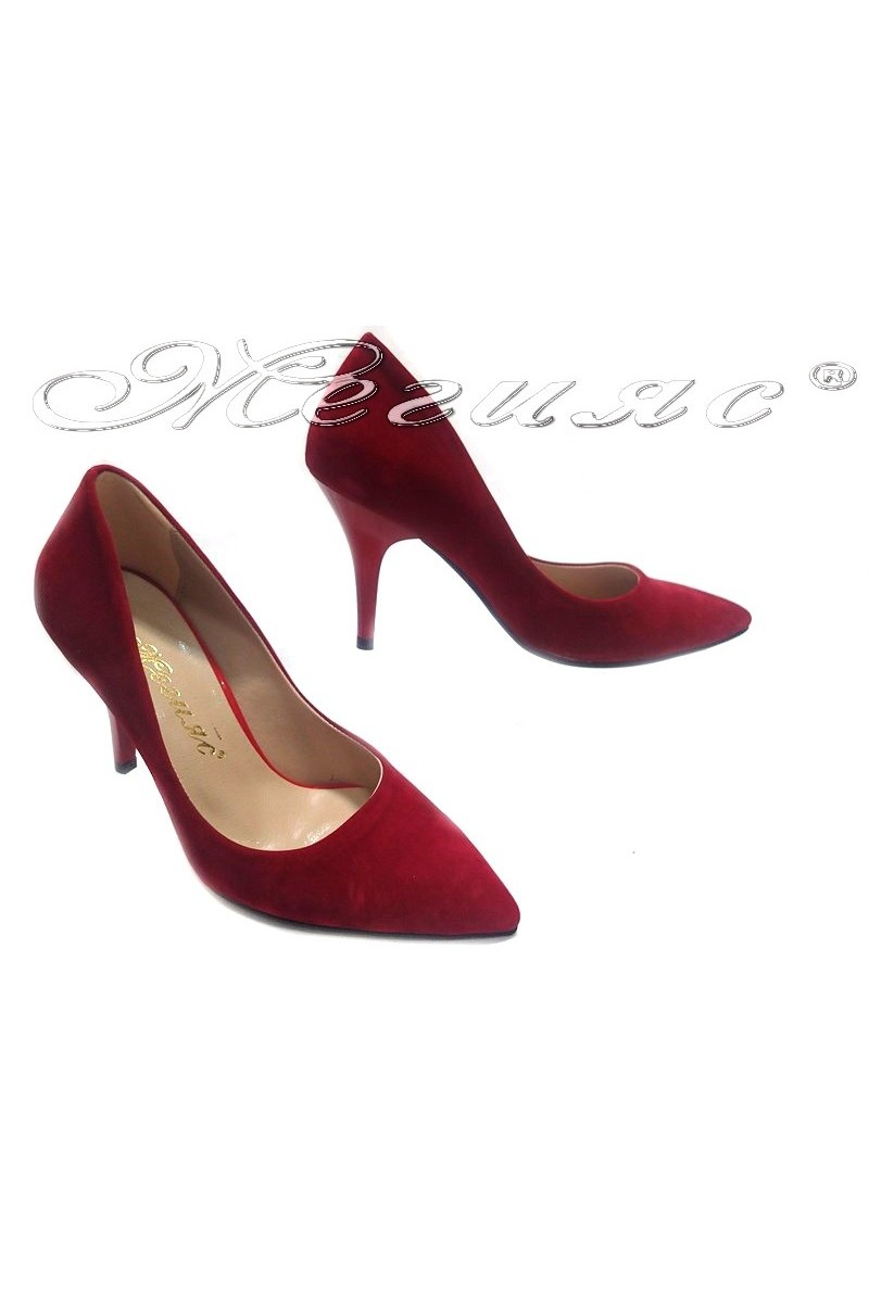 lady shoes 1700 red