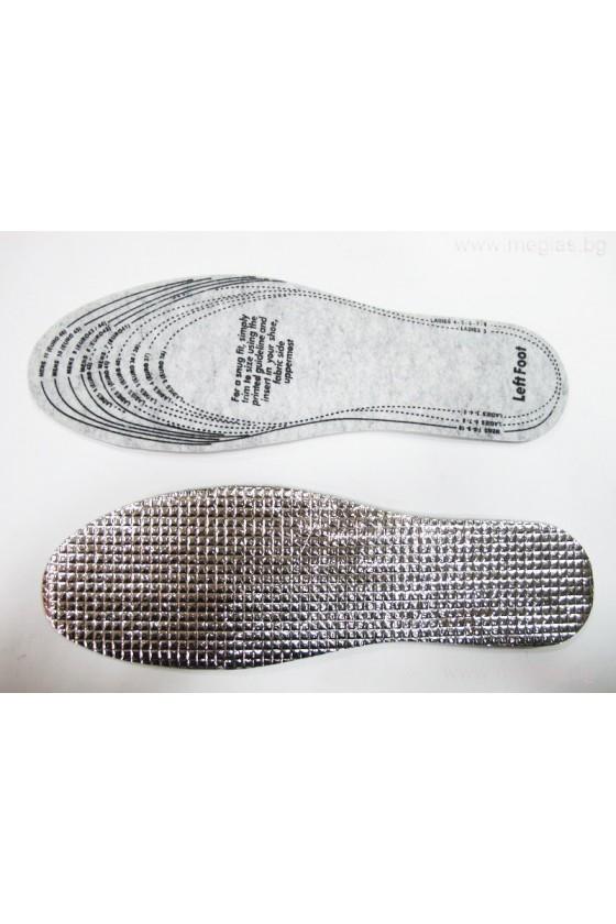Зимни стелки за обувки запазващи топлината -tr22