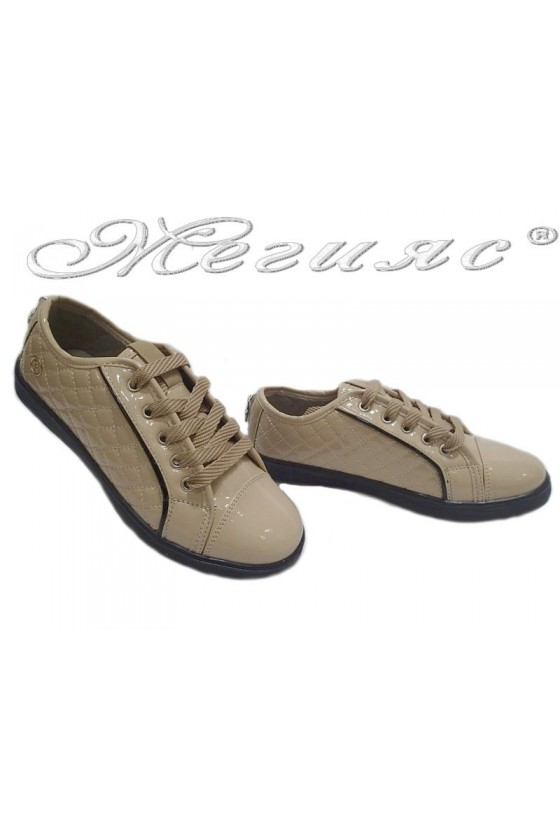 lady shoes 044 beige