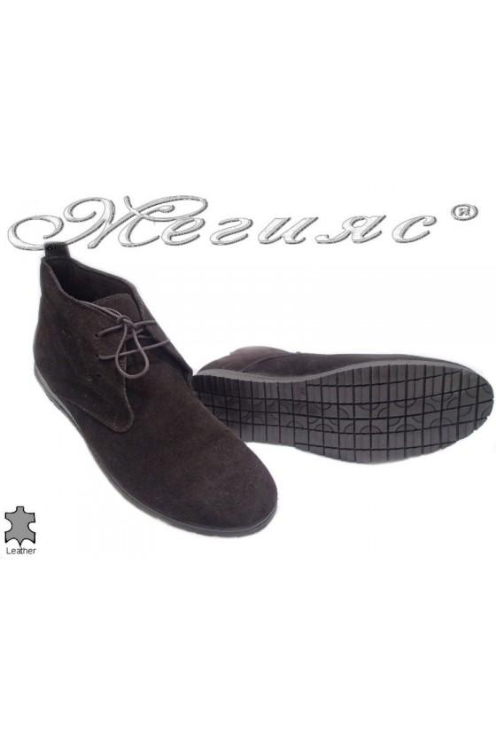 men's boots 037 brown