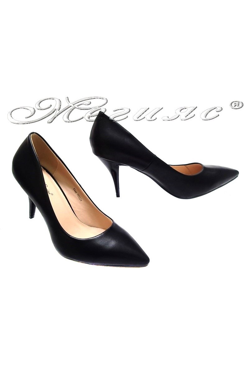 Дамски обувки EKAY 155524 черни
