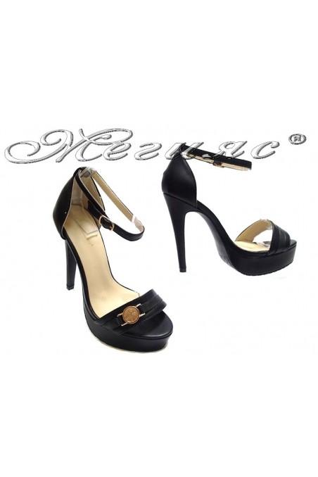 Дамски сандали WENSY 155074 черни