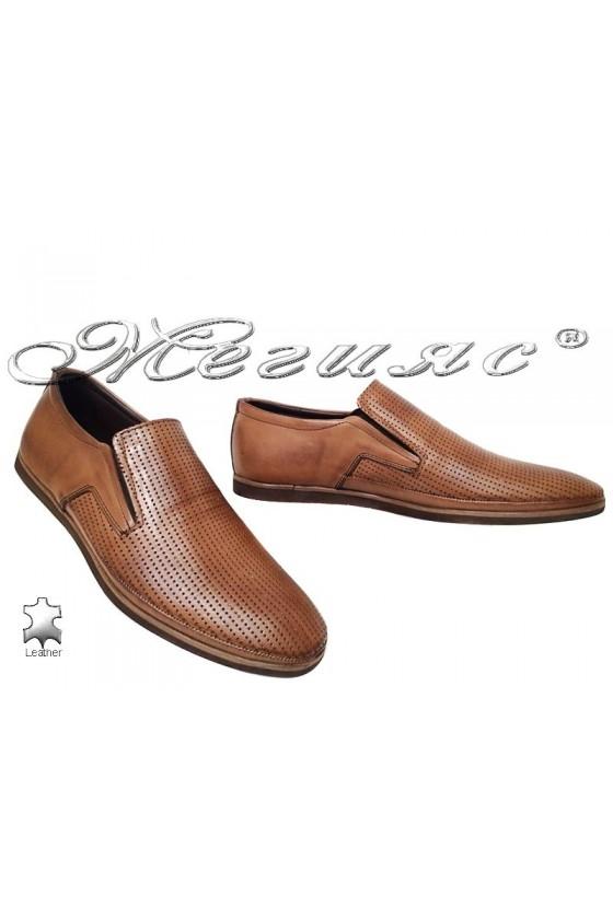 Мъжки обувки 026-03 таба естествена кожа