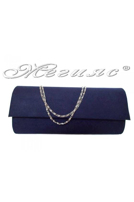 Абитуриентска чанта 373 син велур