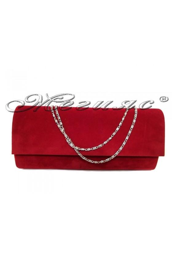Абитуриентска чанта 373 червен набук