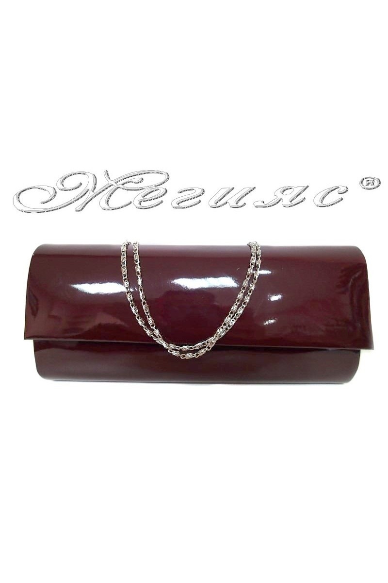 Абитуриентска чанта 373 бордо лак