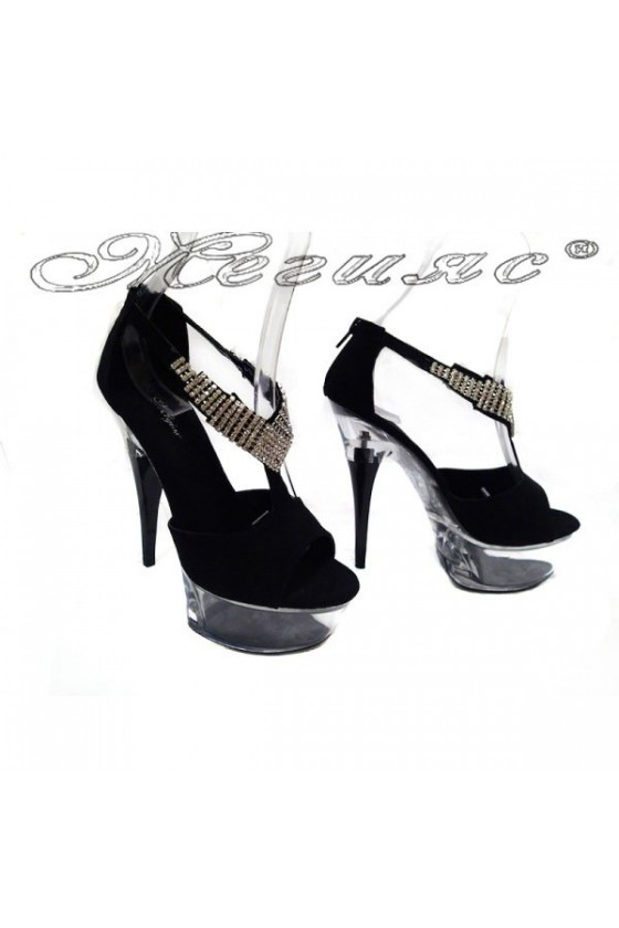 Дамски сандали Hinso-11