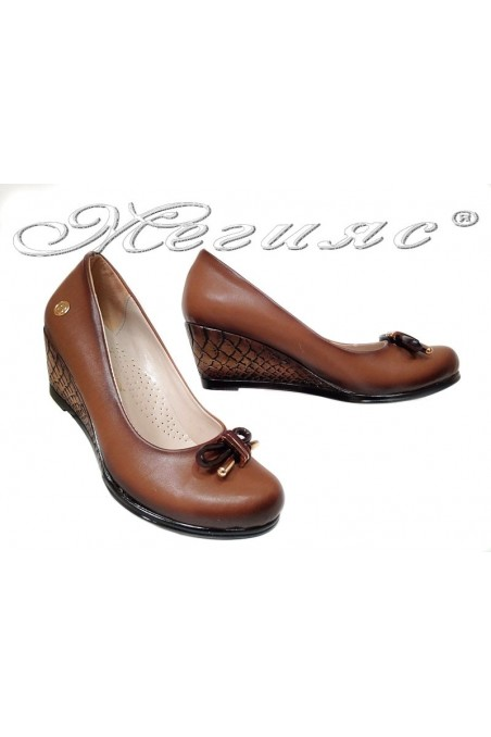 Дамски ежедневни обувки платформа 1015 таба еко кожа