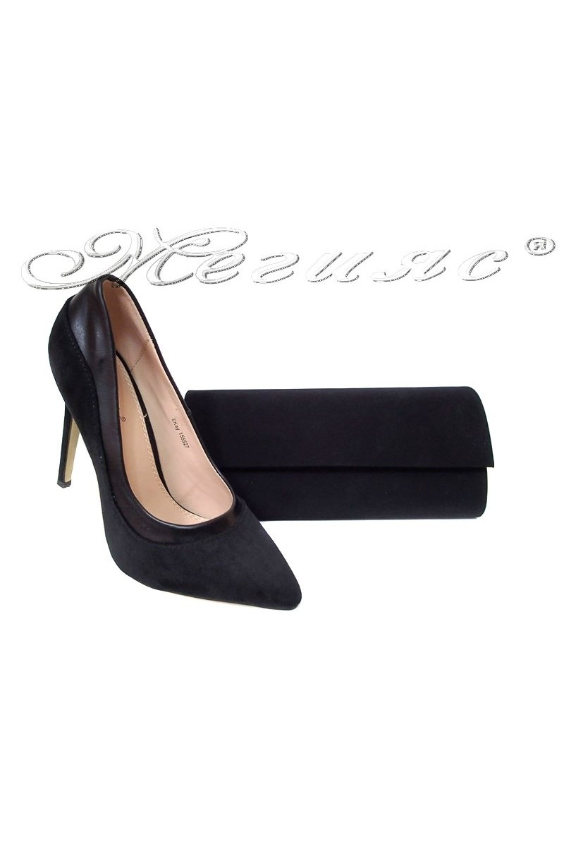 Lady shoes 155527+BAG 373