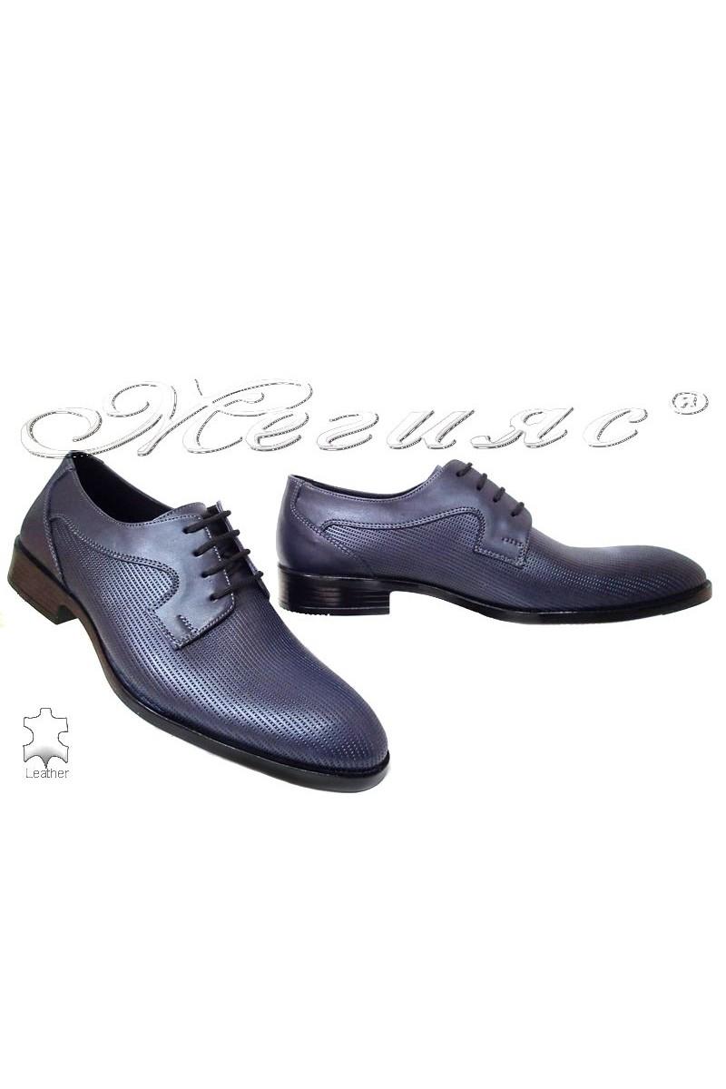 Мъжки обувки Фантазия 316-04 черни естетсвена кожа