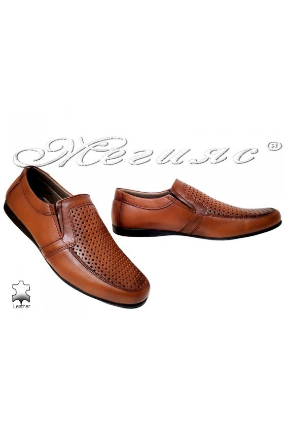 Мъжки обувки Ато 250-1 антик естетсвена кожа
