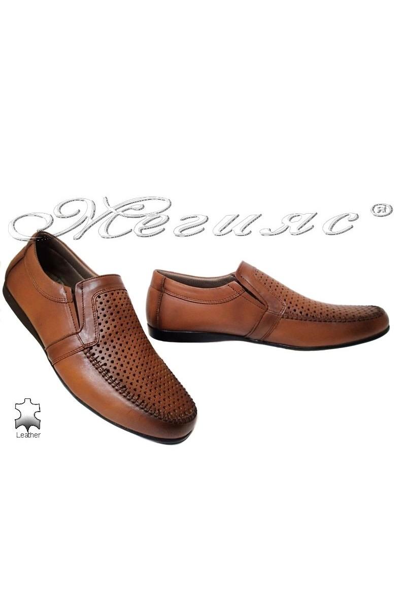 Мъжки обувки Ато 250 антик естетсвена кожа