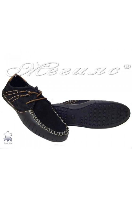 men's shoes  R-07 black