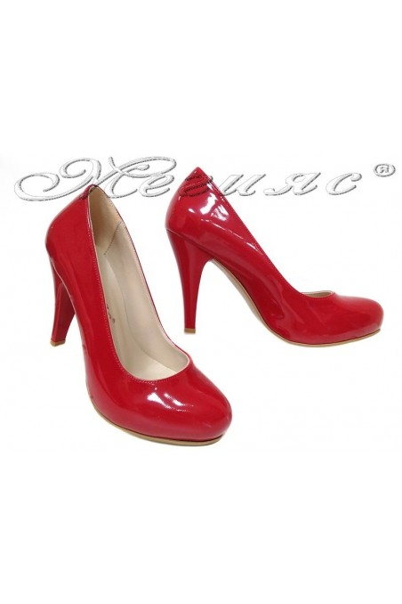 Women shoes 15 high heel red