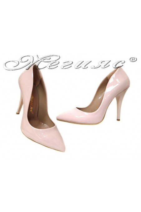 Women high heel shoes 1800 elegant powder patent