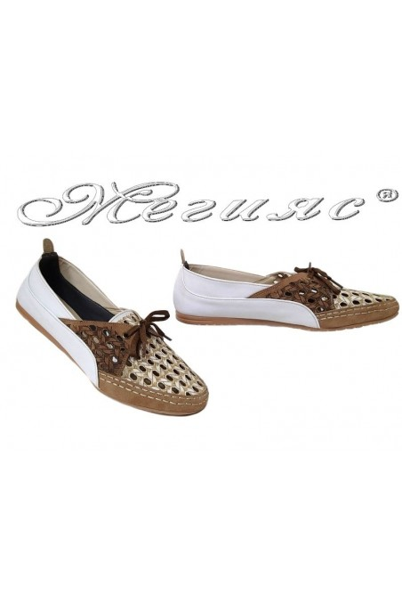 Women sport shoes 506 white pu