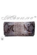Women bag 4202 brown leather + accesssories