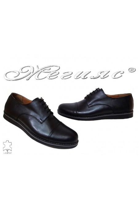 Men shoes B 402 black leather