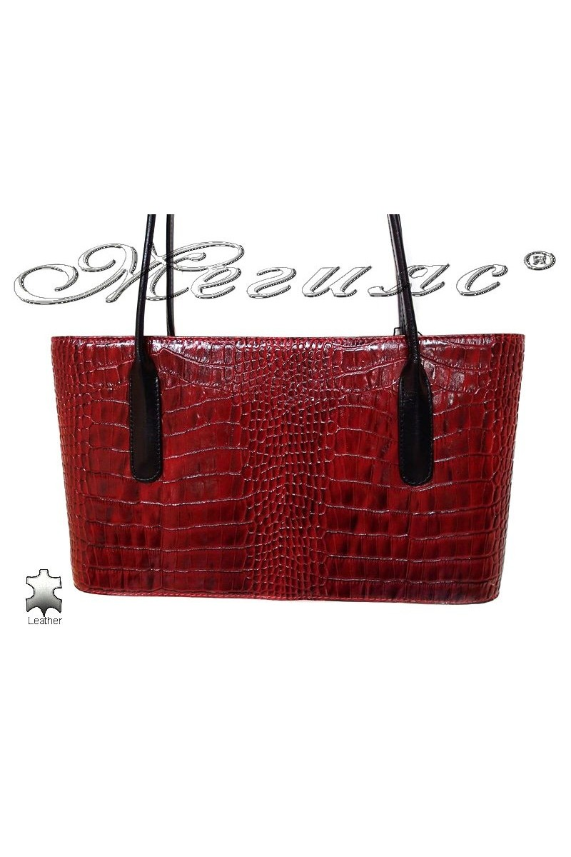 Bag 013 red leather