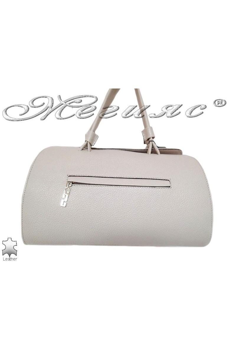 Bag 8273 white leather pu