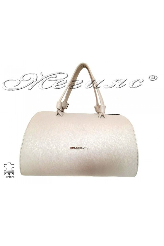 Bag 8273 white leather pu