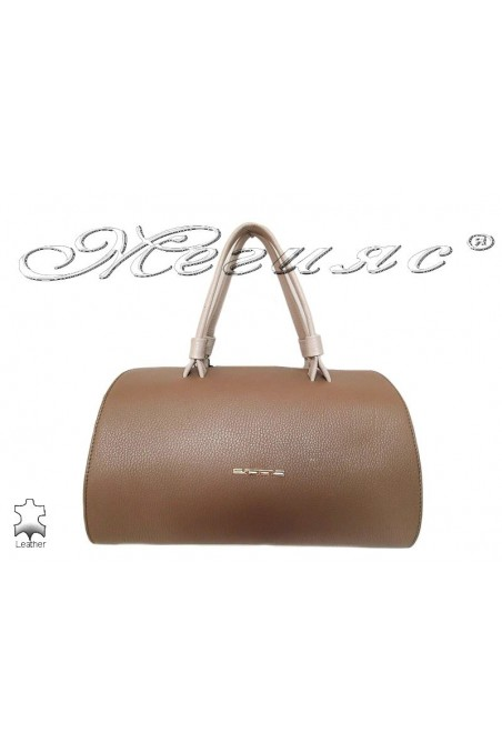 Bag 8273 brown leather pu