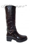 Women casual boots 14-159-6 black gum