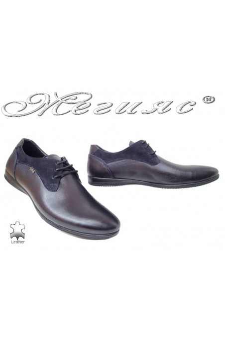 Men shoes Trend 427 blue leather