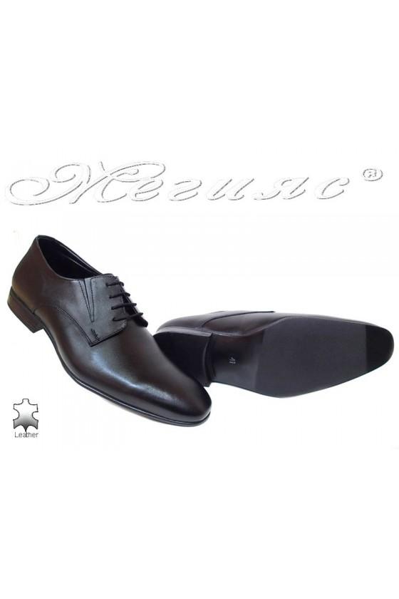 Men elagant shoes FANTAZIA P 38 black leather