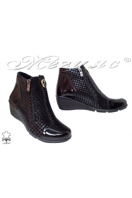Women boots 59 black leather